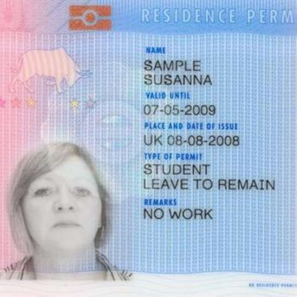 A version of the (potential) future ID card