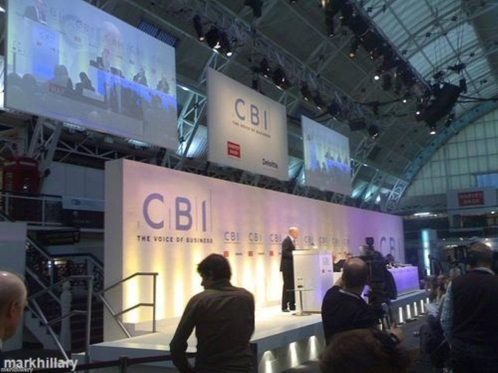 The CBI conference is a critical opportunity for politicians to impress business leaders