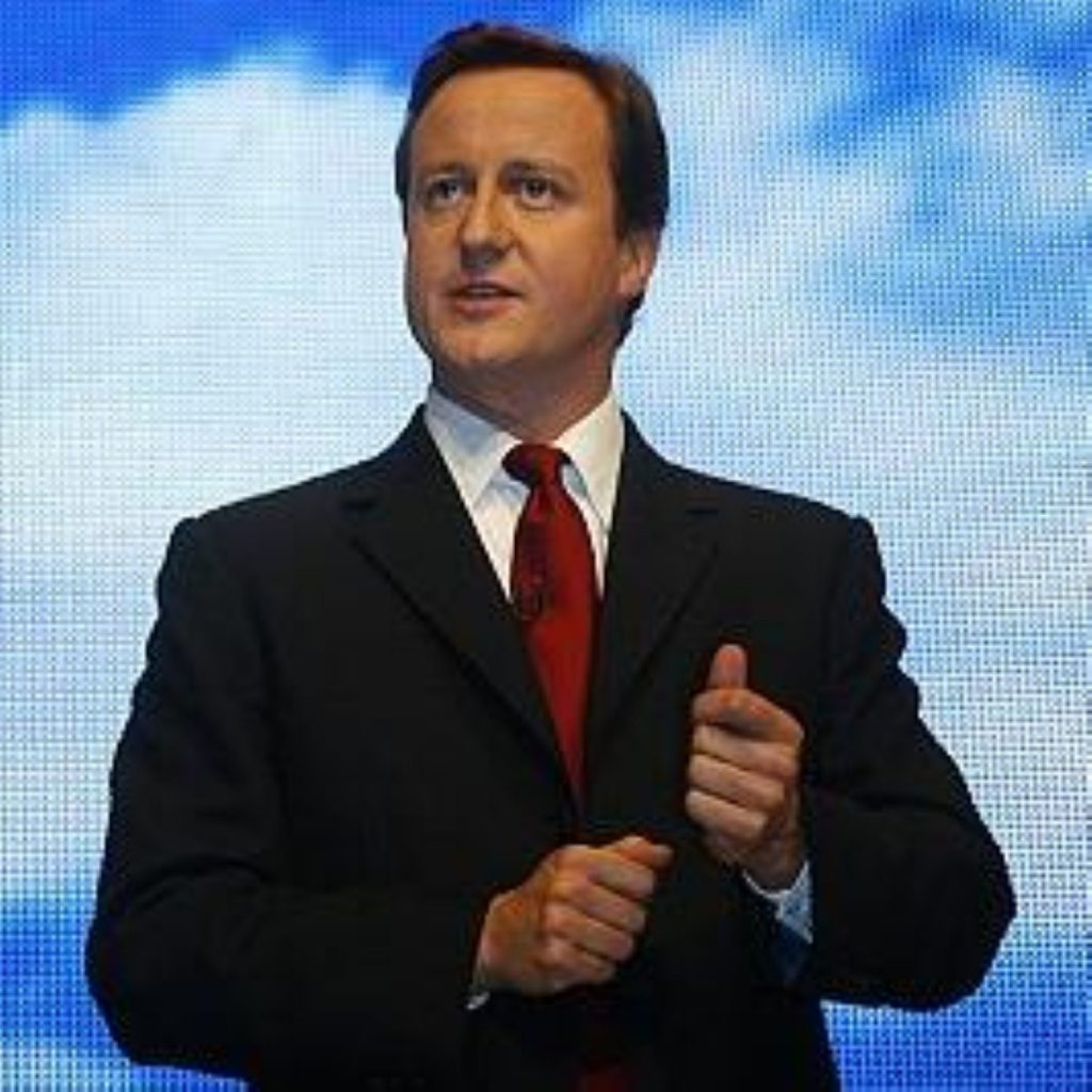 Mr Cameron says tax breaks for businesses will help save jobs