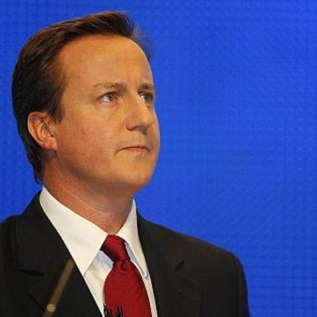 """David Cameron attacks """"corrupted"""" Labour"""