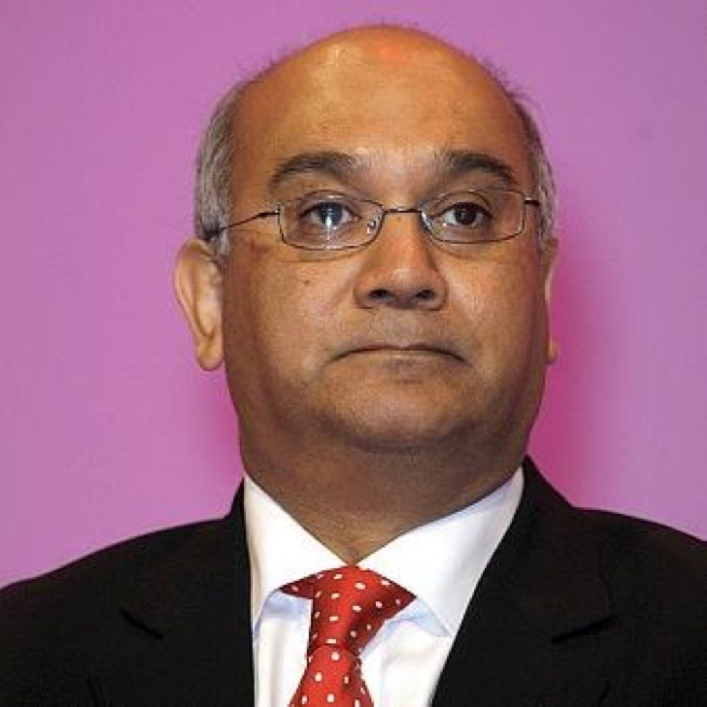 Keith Vaz, chairman of the home affairs committee