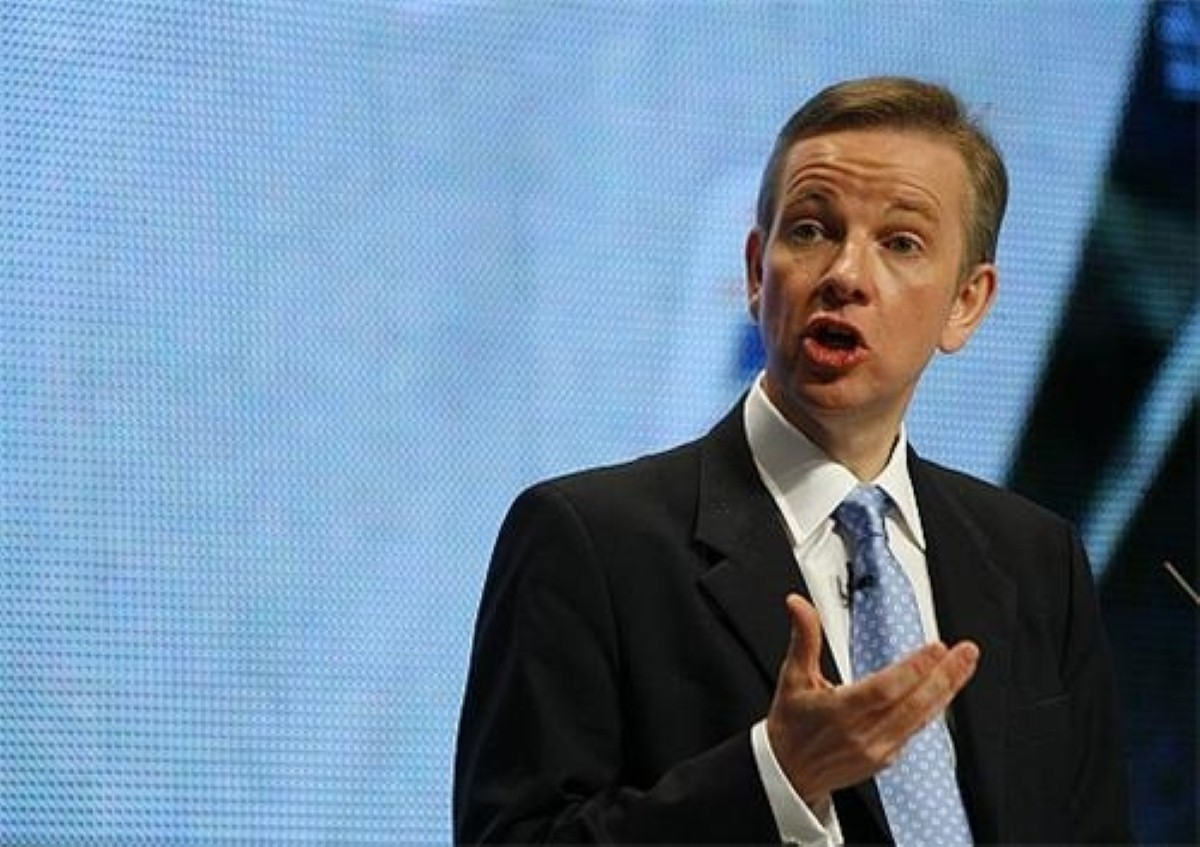 Gove starts a new career as a rapper