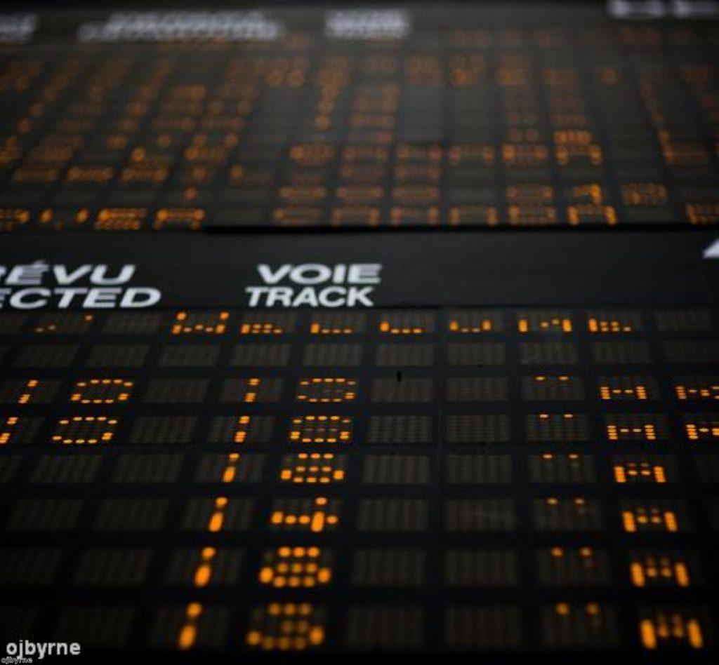 Passengers lose £1 billion on rail delays
