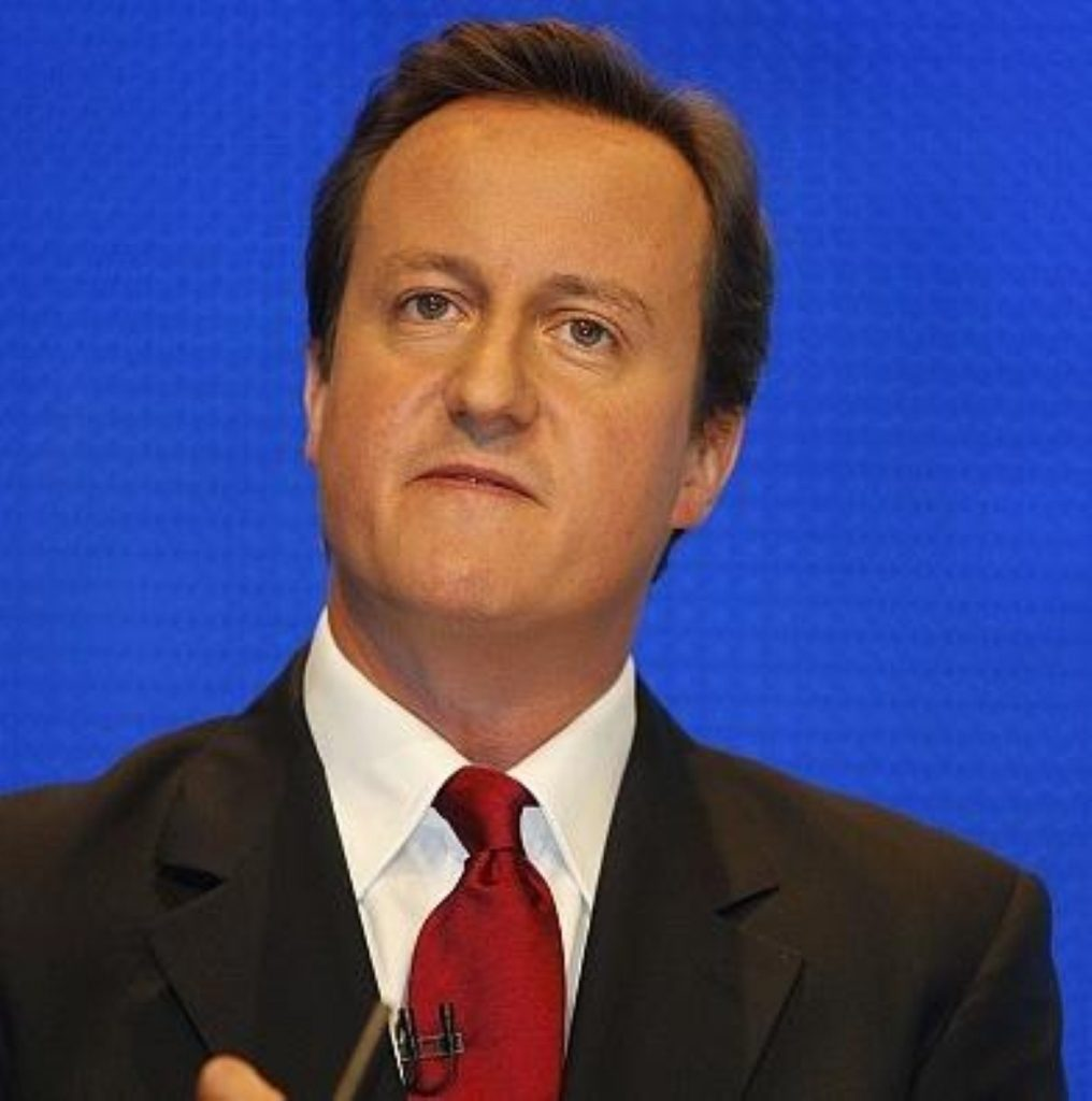 Cameron was forced to defend the party from NHS-related attacks again today