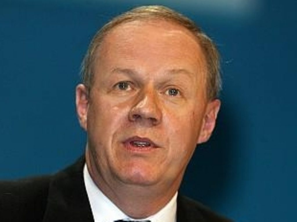 Damien Green, shadow immigration minister