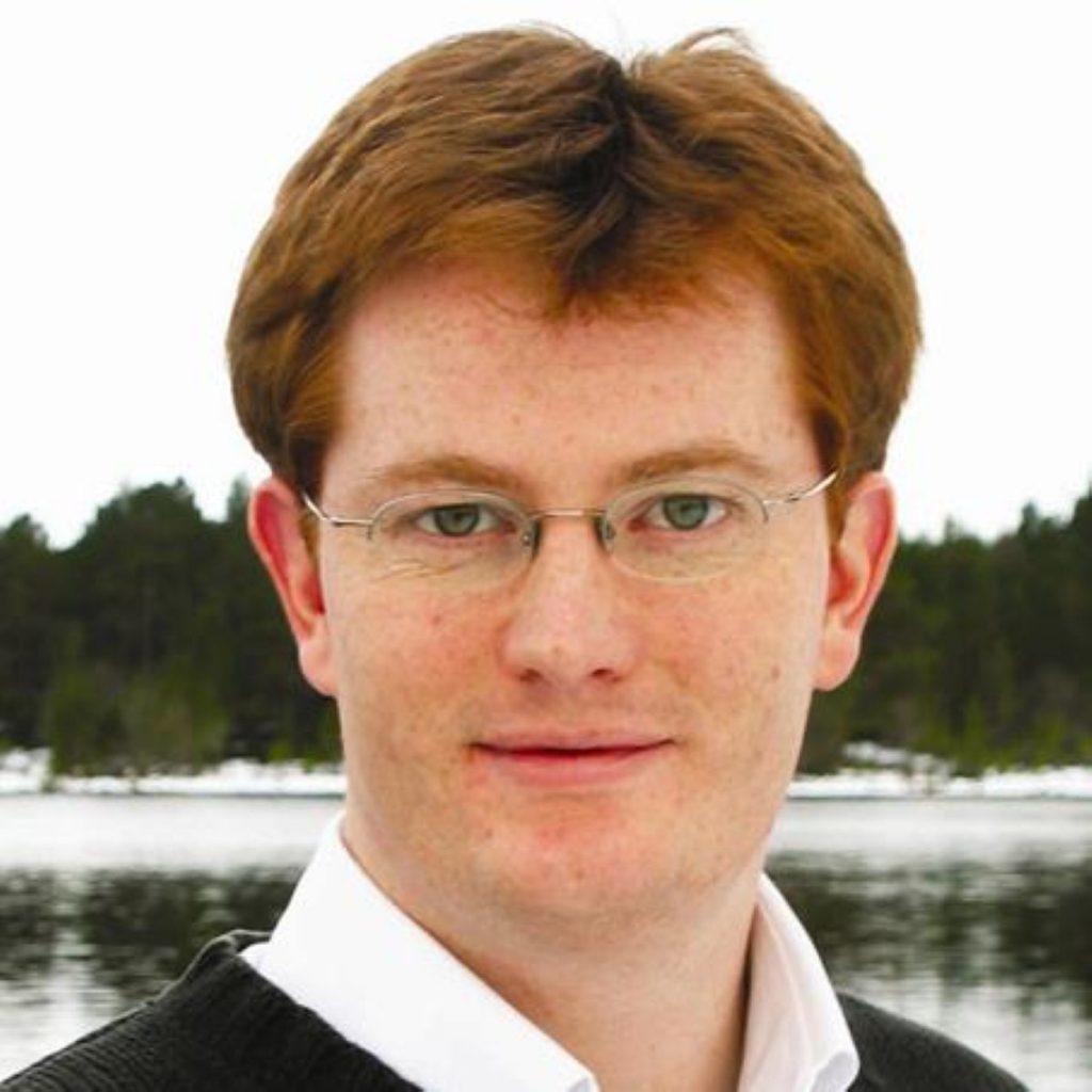 Danny Alexander is chief secretary to the Treasury