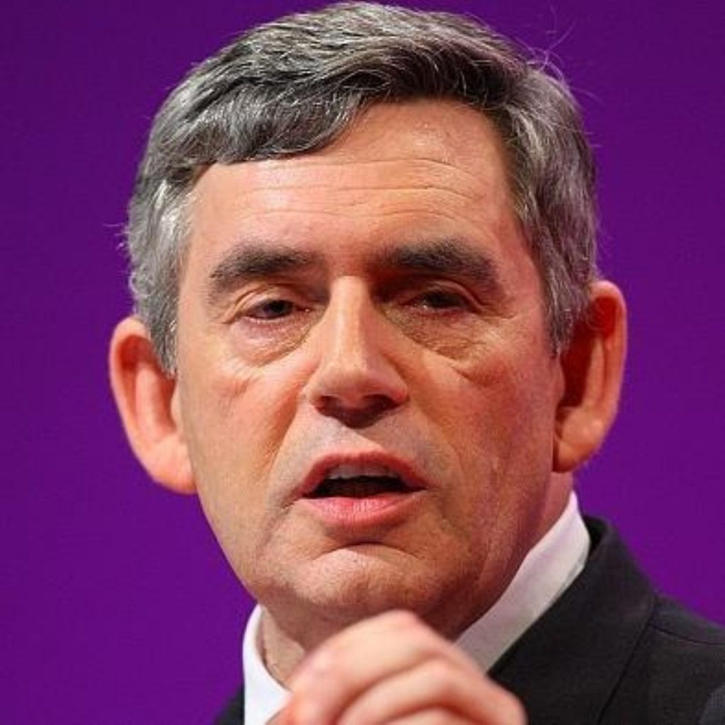 Gordon Brown hopes to mount fightback after tough weekend