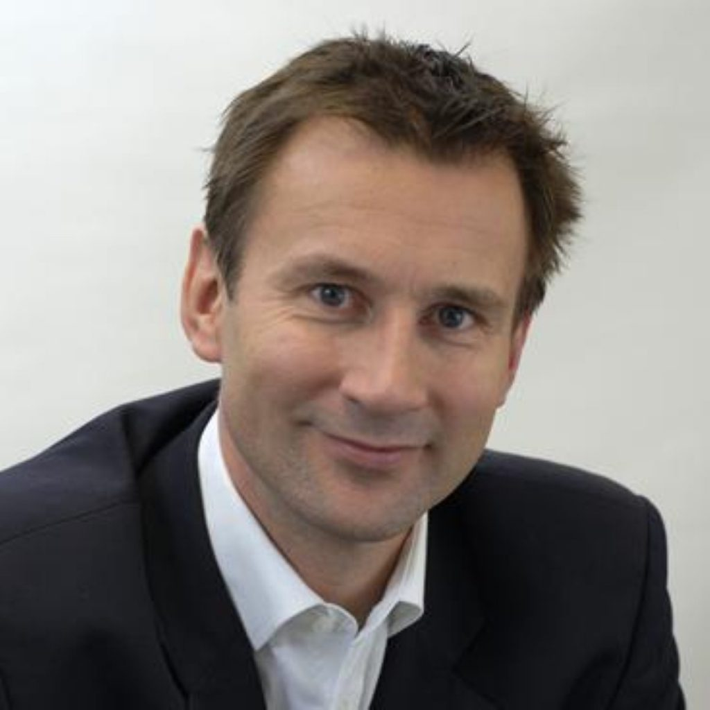 Hunt is the unexpected winner of the reshuffle