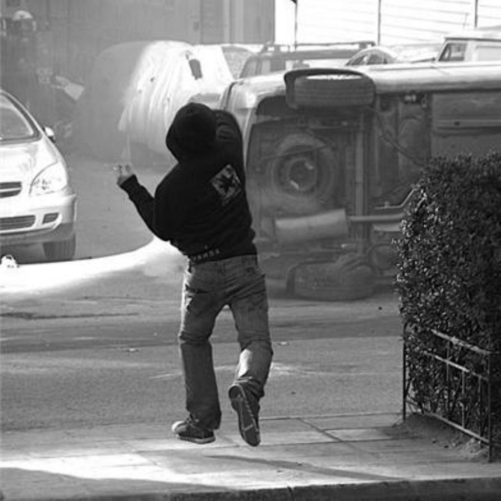 An image of the riots in Greece this week. Image licensed under Creative Commons Attribution ShareAlike 2.0 License