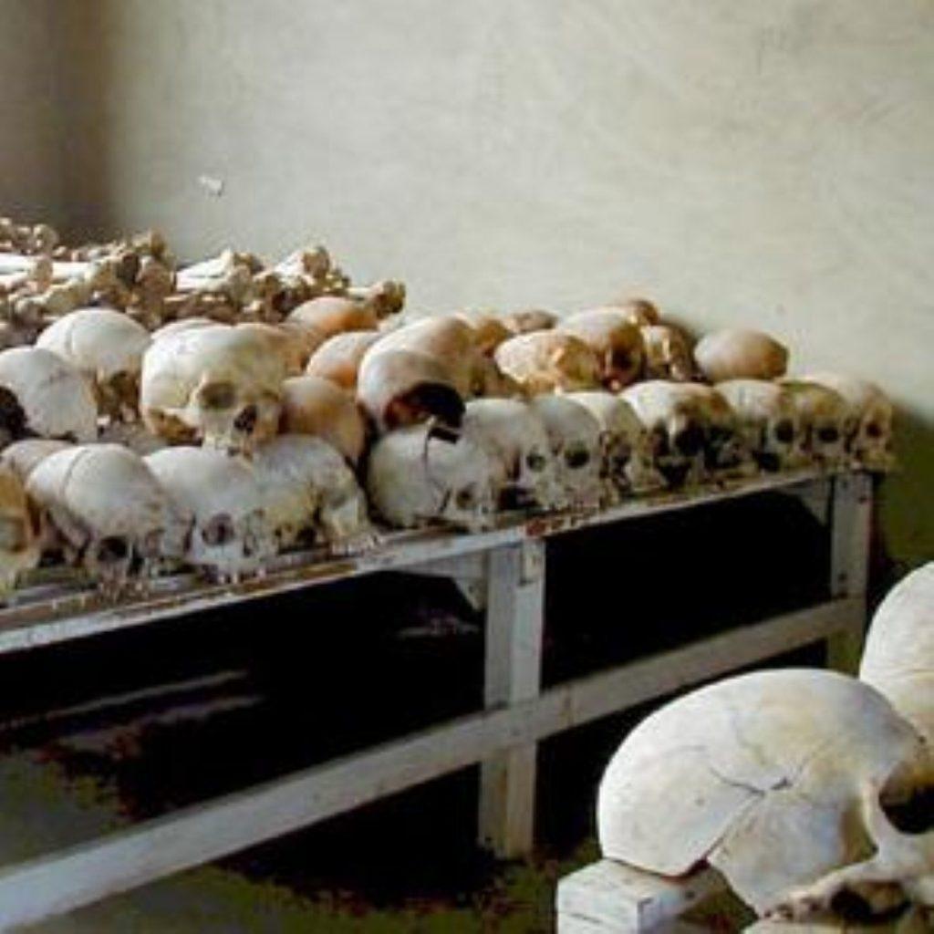 The evidence of Rwandan genocide