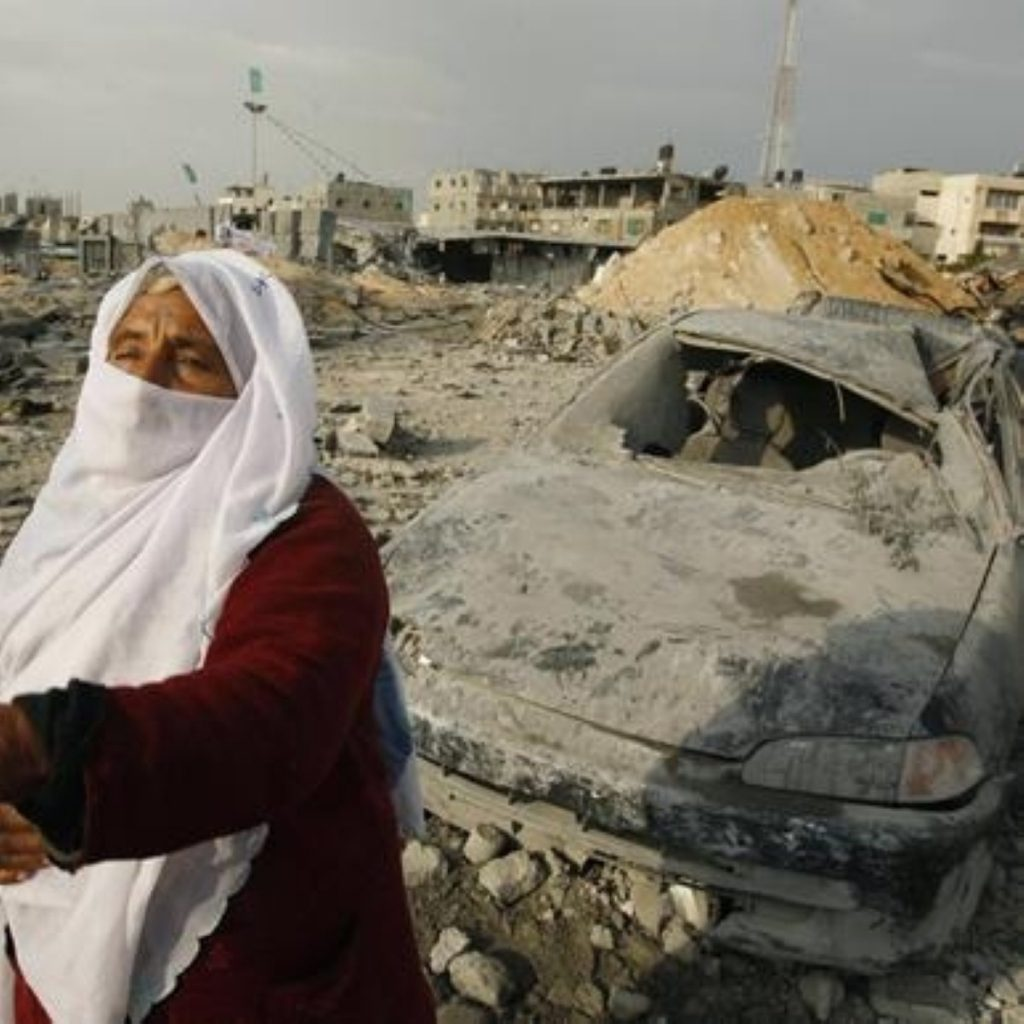 Destruction in the Gaza Strip has appalled MPs