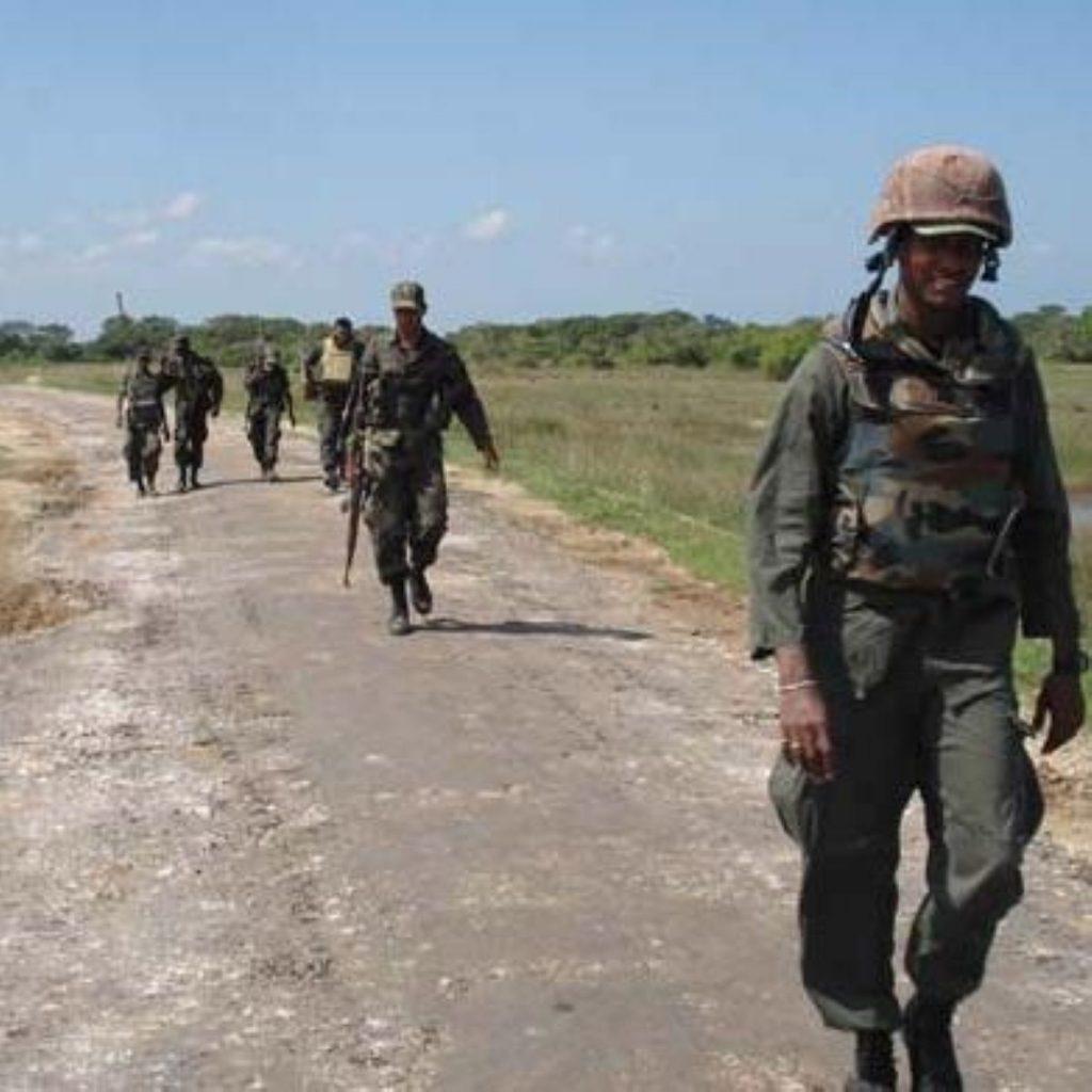 Sri Lanka refusing to allow ceasefire