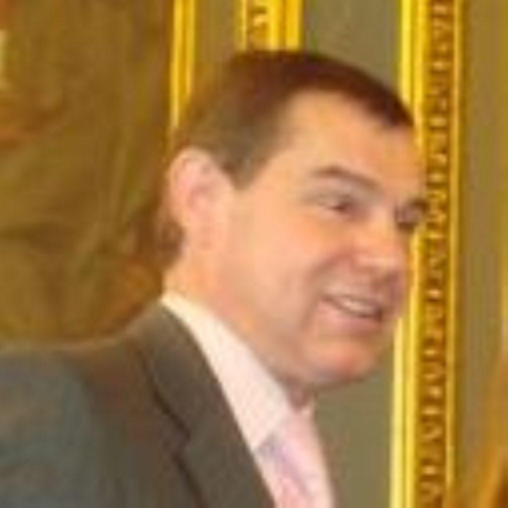 Nigel Griffiths, MP for Edinburgh South