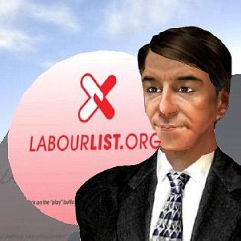 An avatar of Peter Mandelson