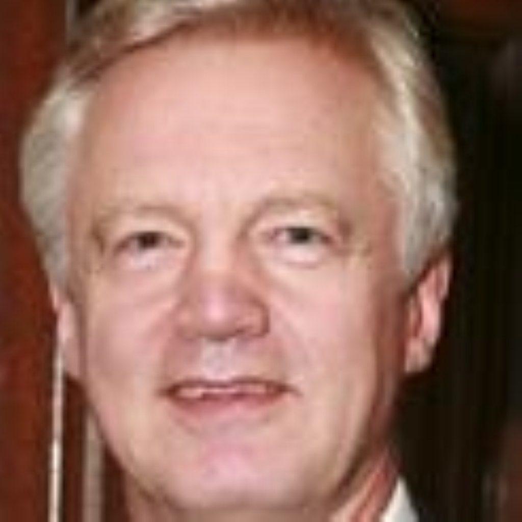 David Davis, former shadow home secretary