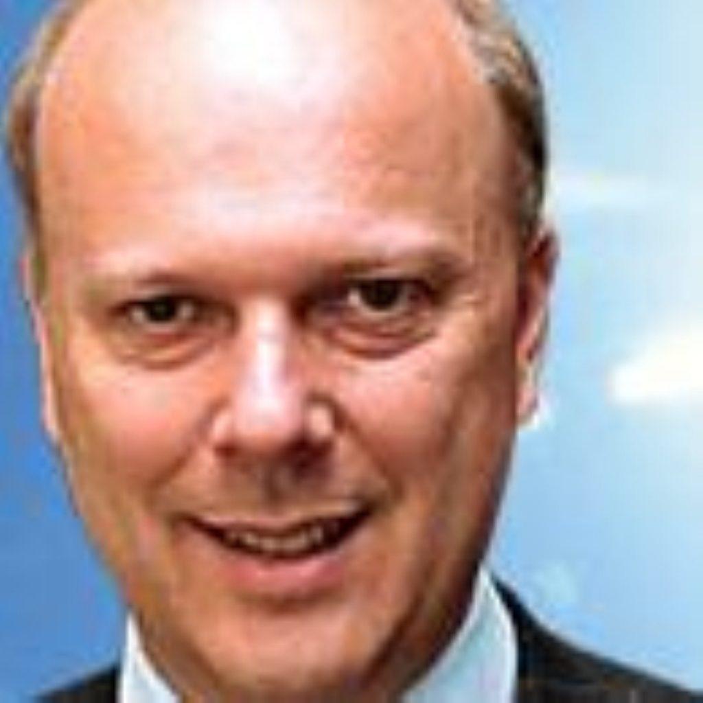 Chris Grayling, shadow home secretary