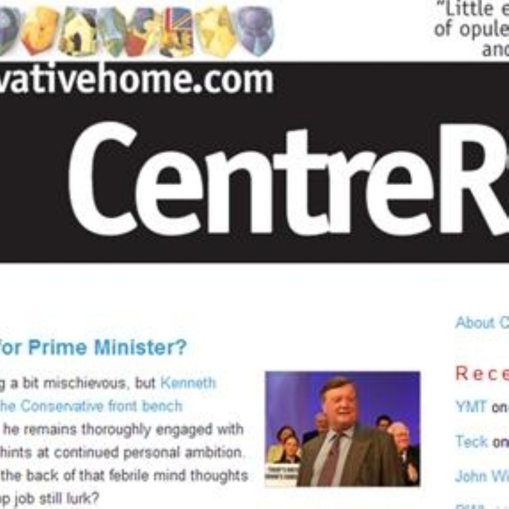 The ConservativeHome website