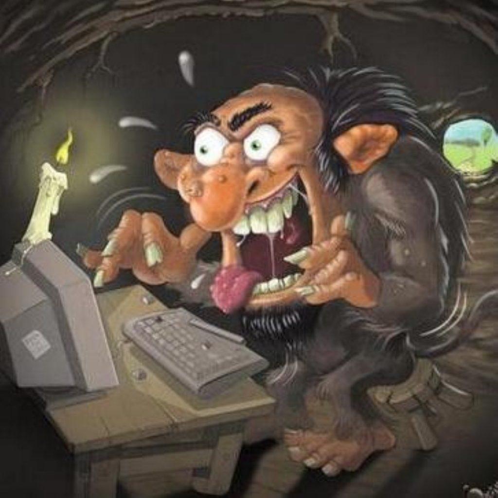Trolls: Increasingly prevalent online.