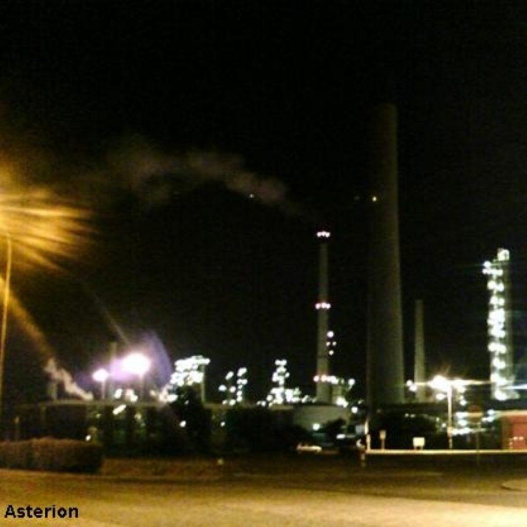 No laws broken at Lindsey oil refinery