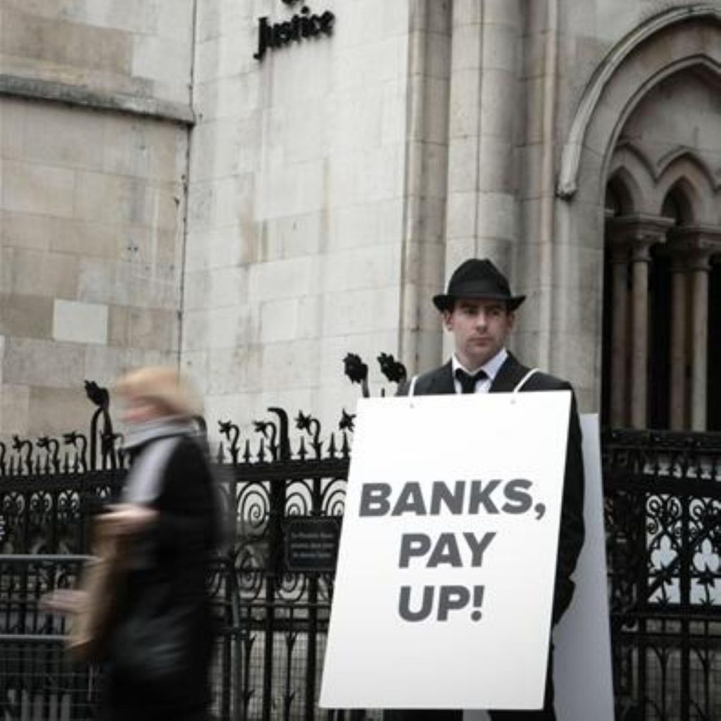 The government hopes the Vickers report will help placate some public anger towards the banking sector