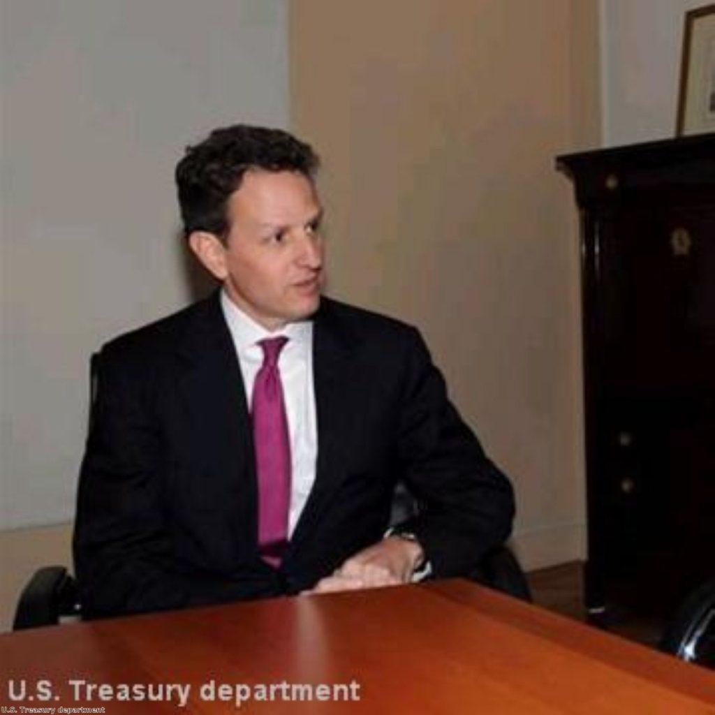 Geithner: Eurozone crisis threatens to engulf globe