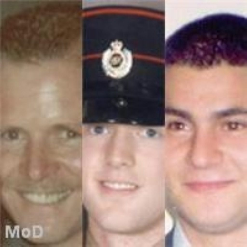 The victims of recent violence in N.Ireland