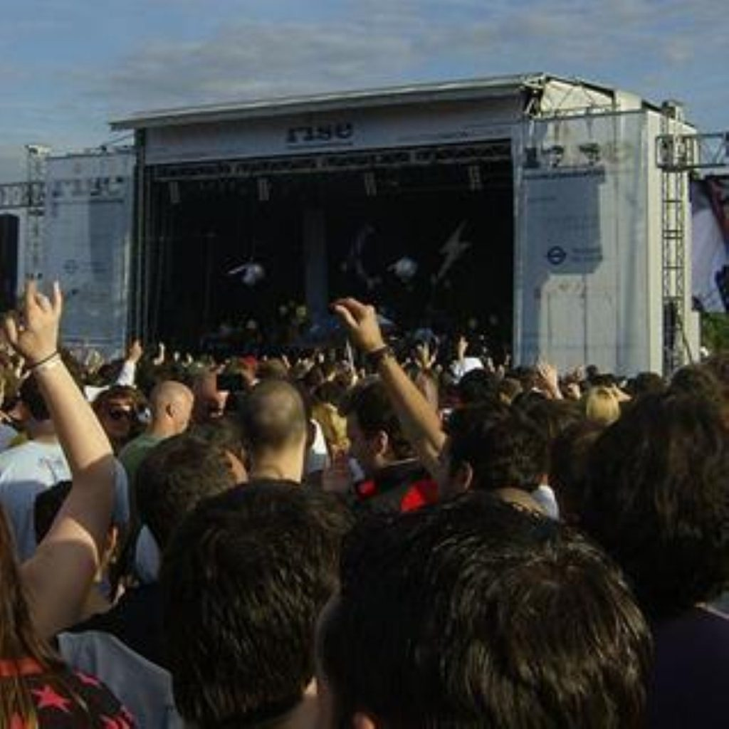 A scene from a previous Rise festival