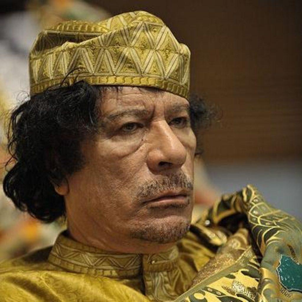 Muammar Gaddafi is refusing to surrender power in Tripoli