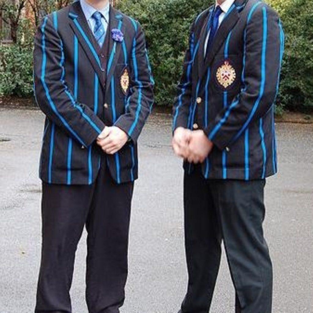 Two public school boys