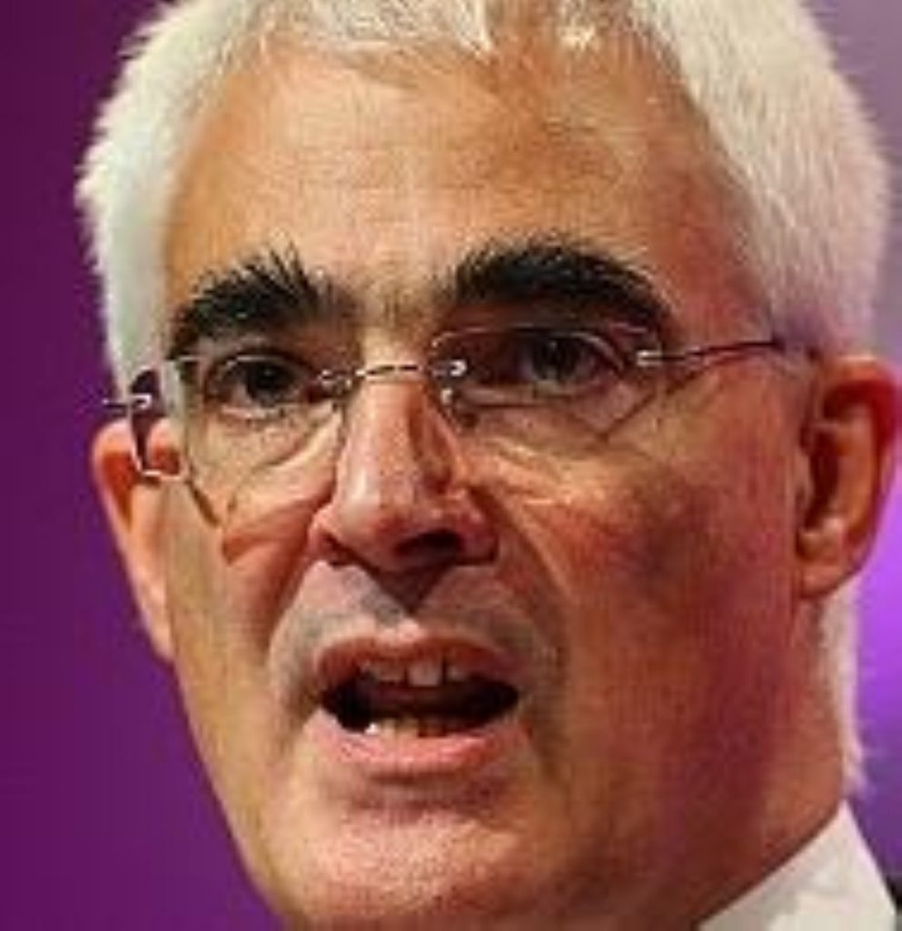 Alistair Darling will host this weekend's G20 summit