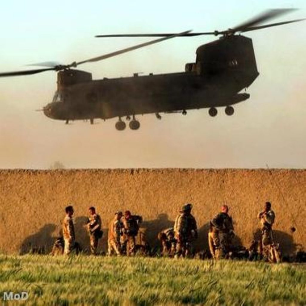 Afghanistan troops have faced supply delivery delays