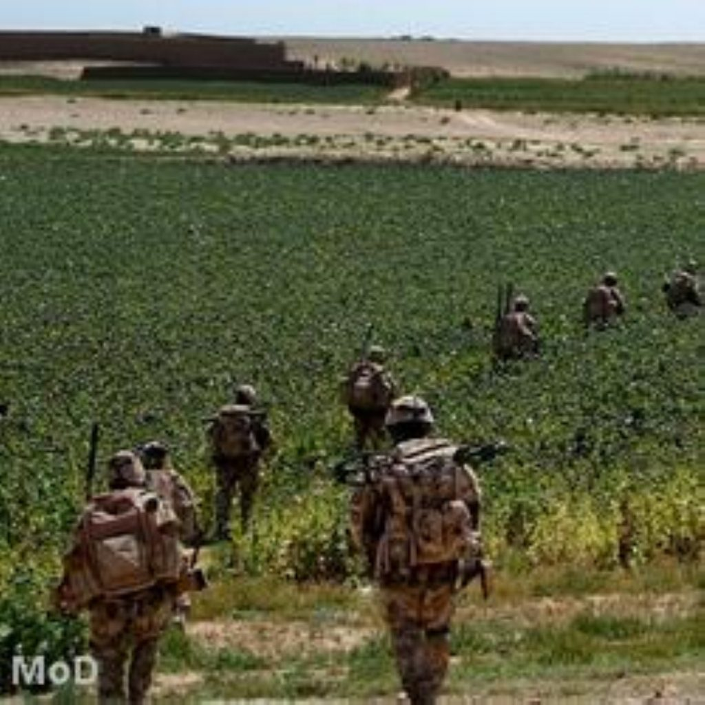 Ambassador wants troops out by 2014