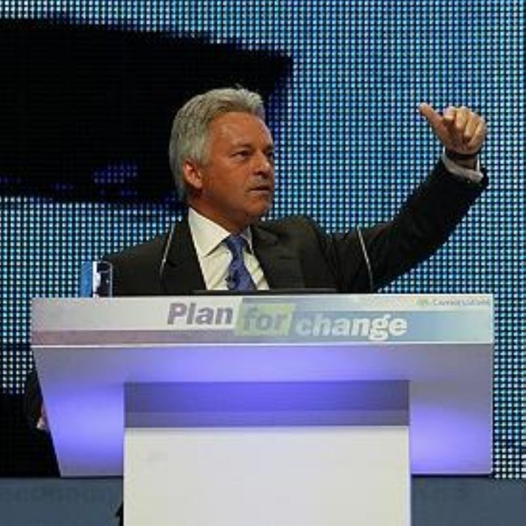 Alan Duncan, shadow Commons leader
