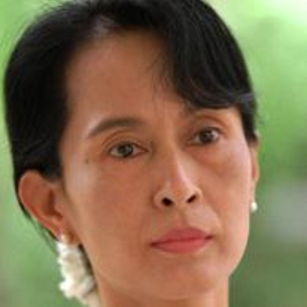 Aung San Suu Kyi is a figure head for human rights in Burma