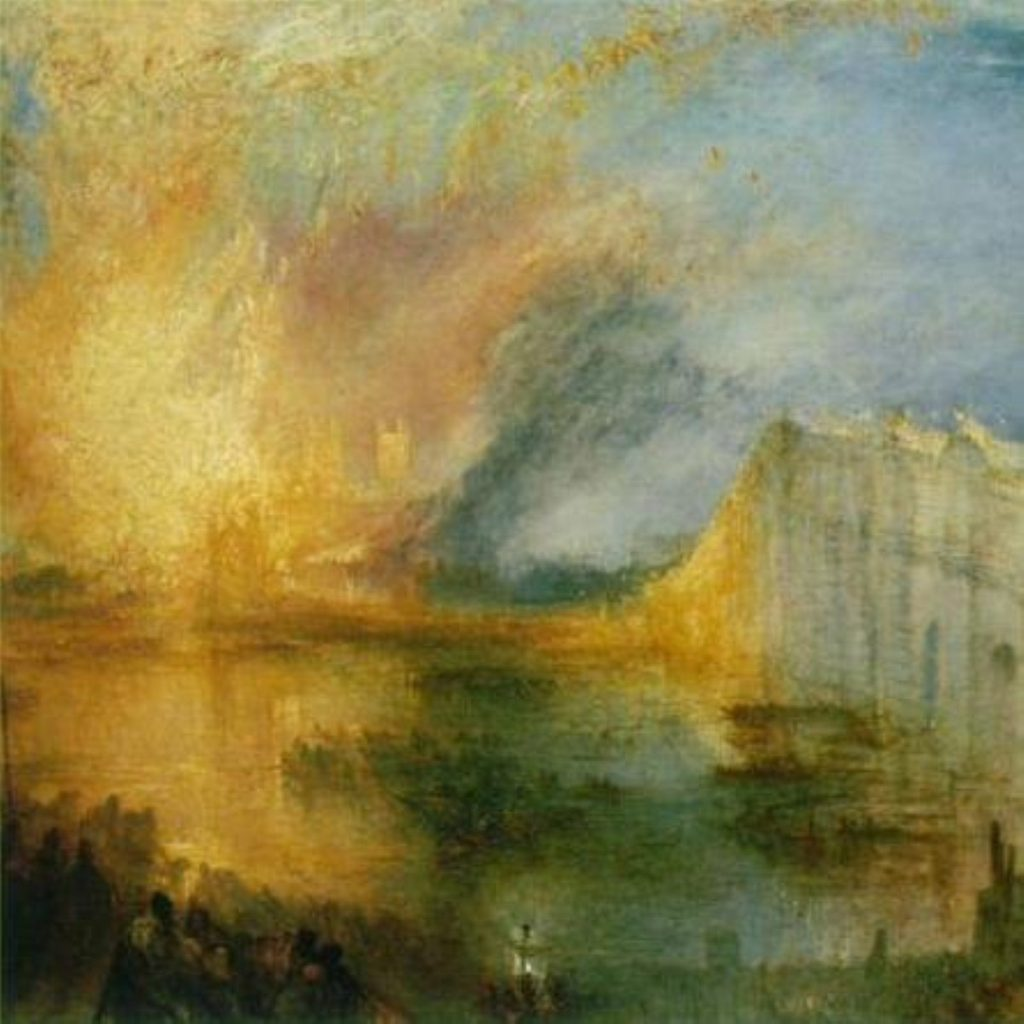 Turner's The Burning of the Houses of Lords and Commons