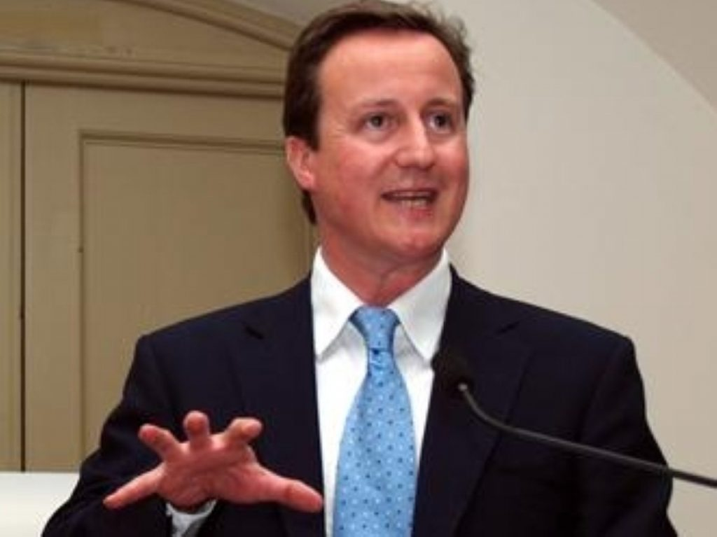 David Cameron's economy speech in full