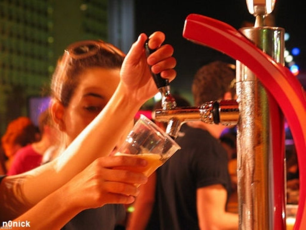 Coalition government wants to address drink-fuelled disorder