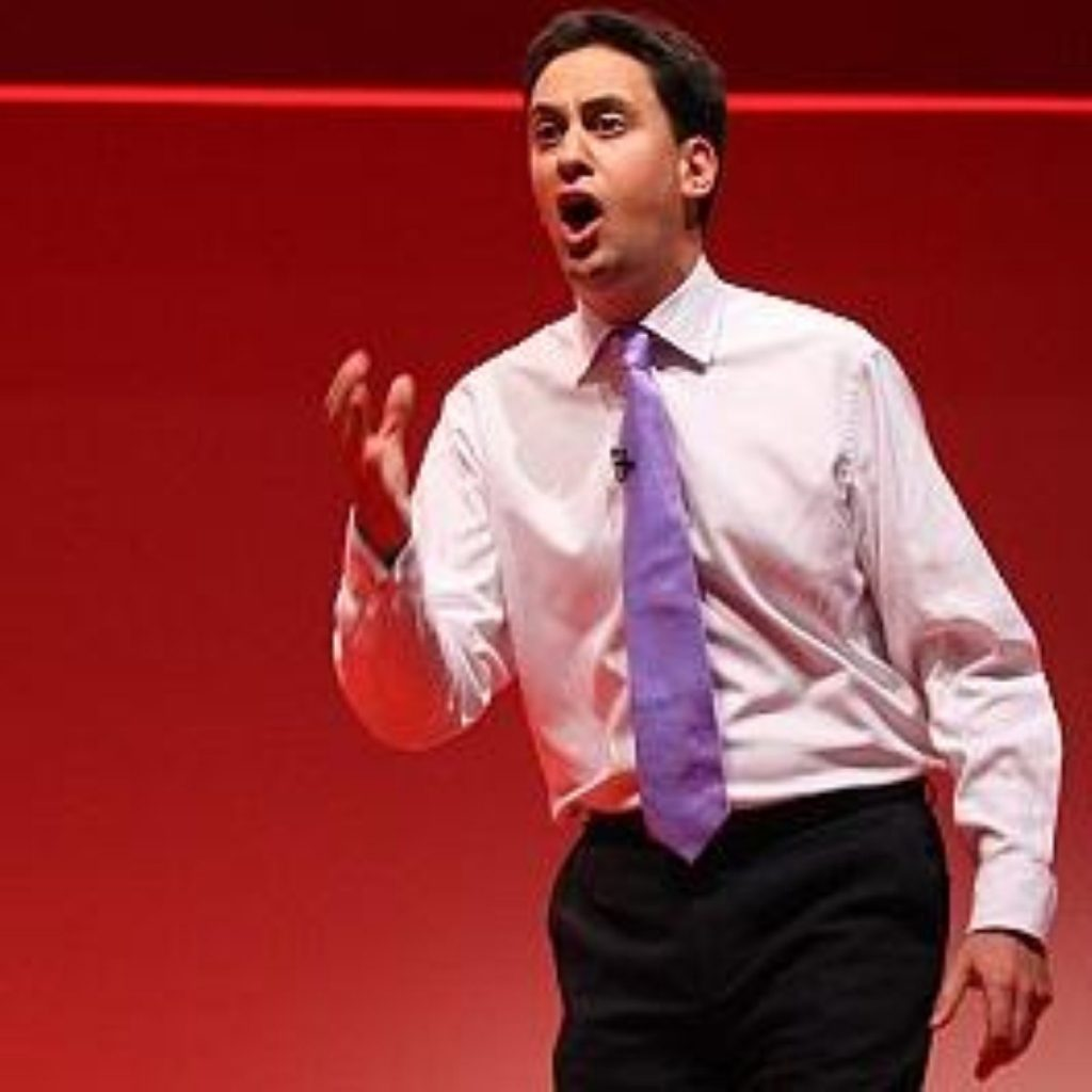 We don't have any pictures of Ed Miliband in his underwear, so this will have to do