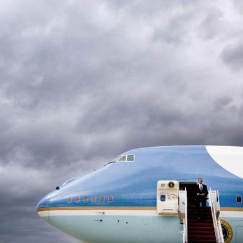 Barack Obama's state visit saw him address the big, big picture