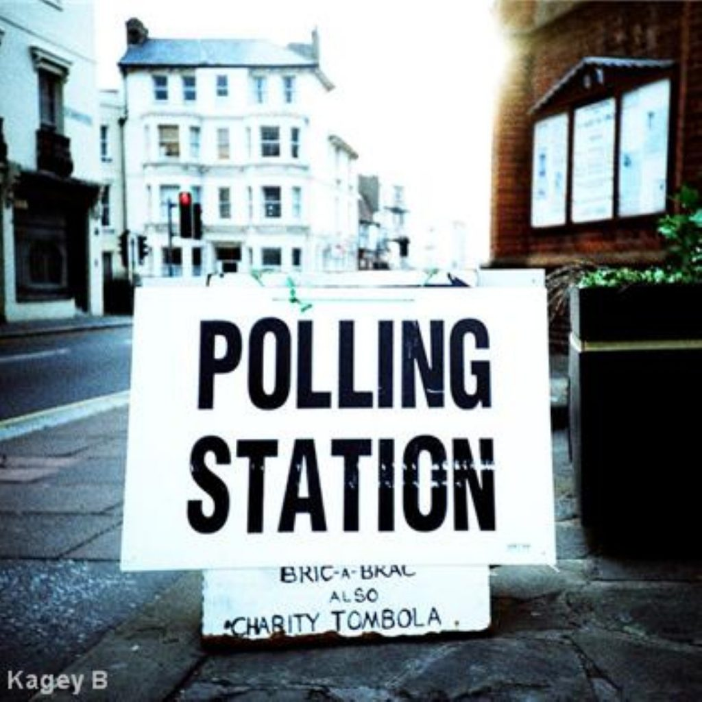 Voters in Glasgow North East went to the polls today