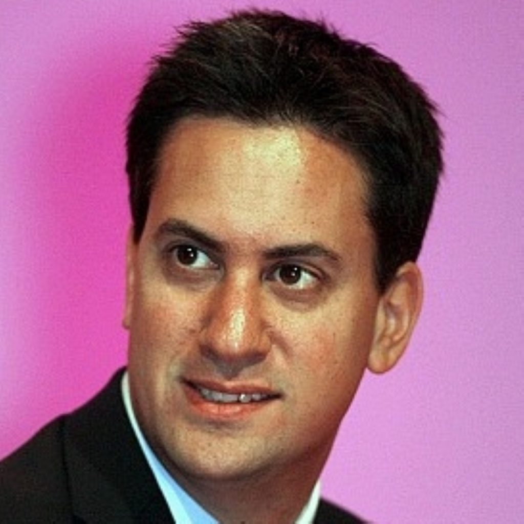 Ed Miliband: 'I am only standing here today because the British education system helped my dad break through barriers.'