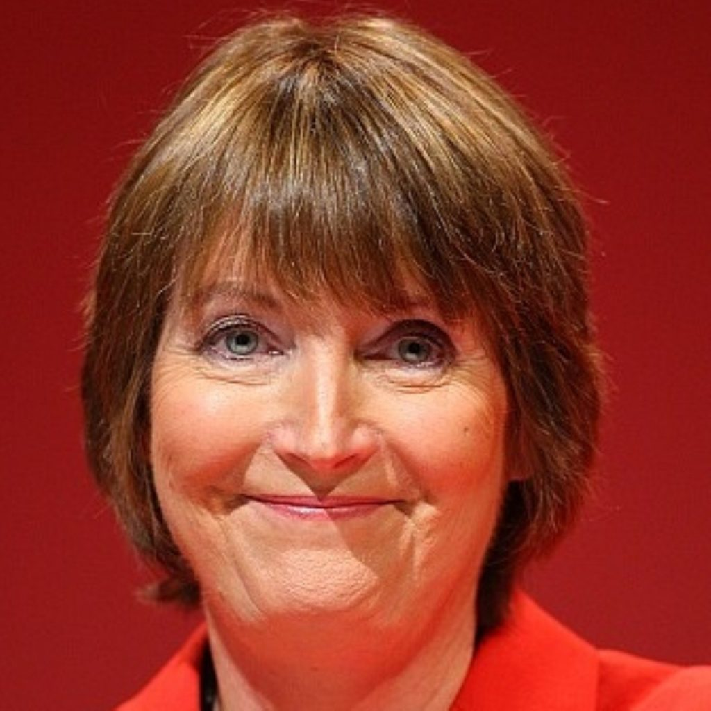 Harriet Harman has caused controversy with comments about male leadership