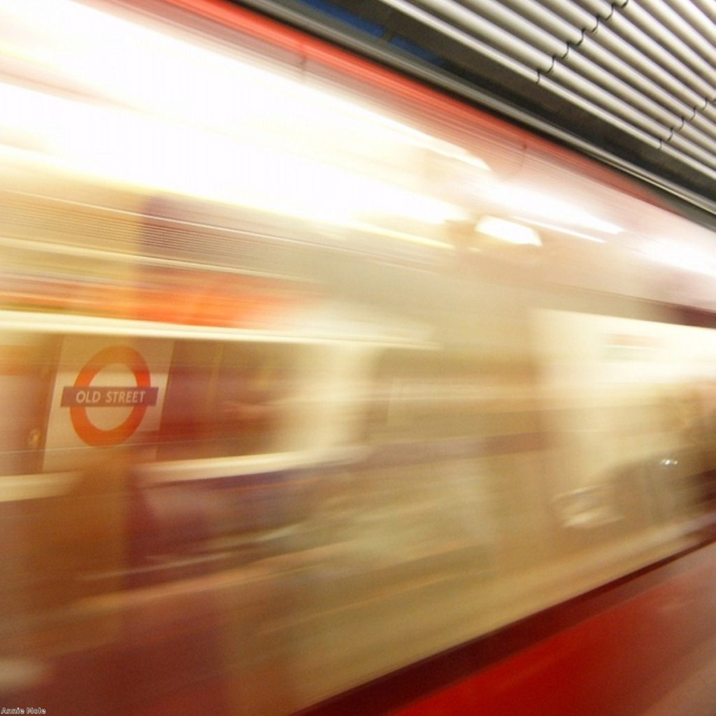 The Tube strike hit London at 19:00 BST yesterday