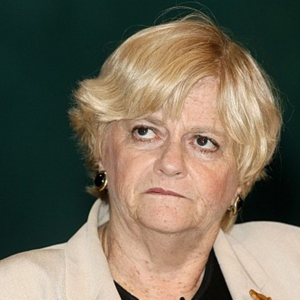 Ann Widdecombe leads the campaign against gay marriage