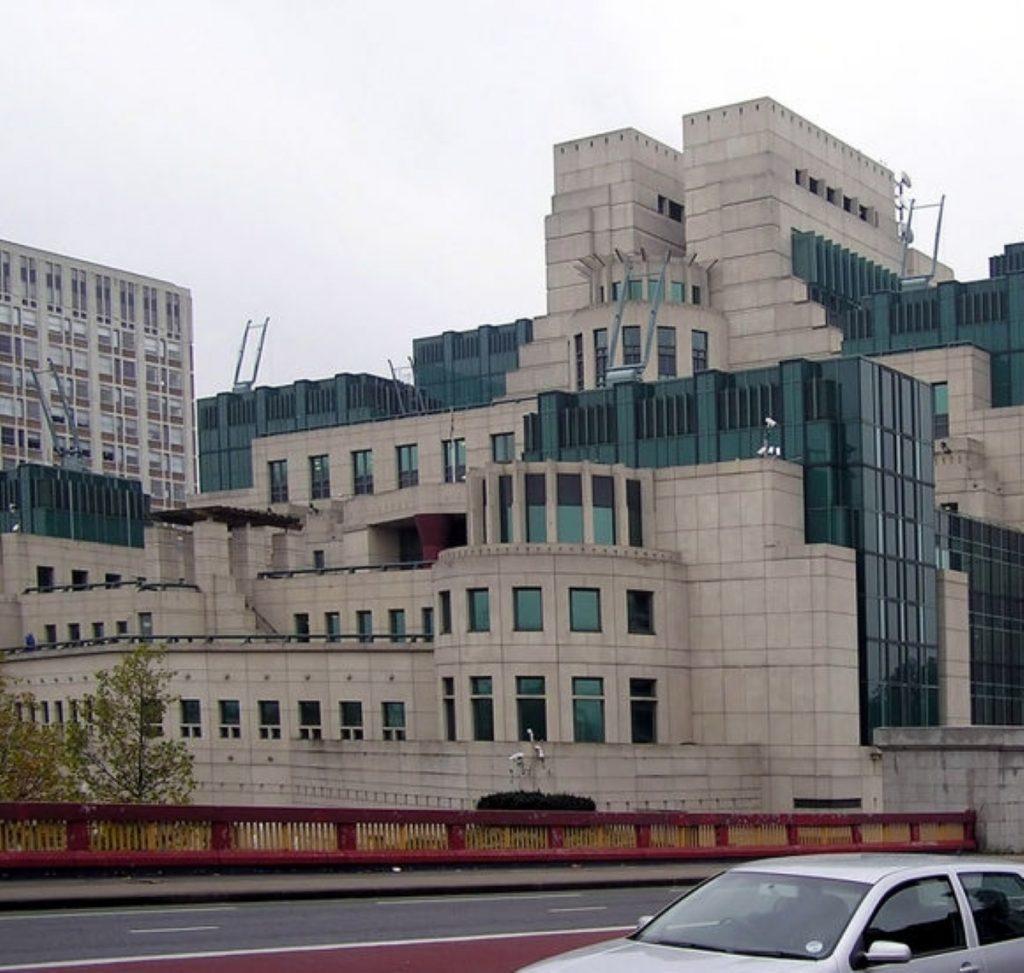 Sir John will head MI6 at Vauxhall Cross