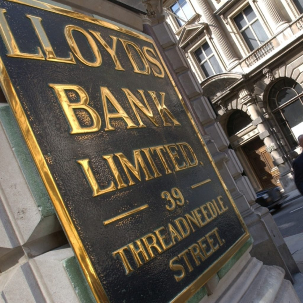 Lloyds boss Eric Daniels' bonus was confirmed straight after the deal was announced
