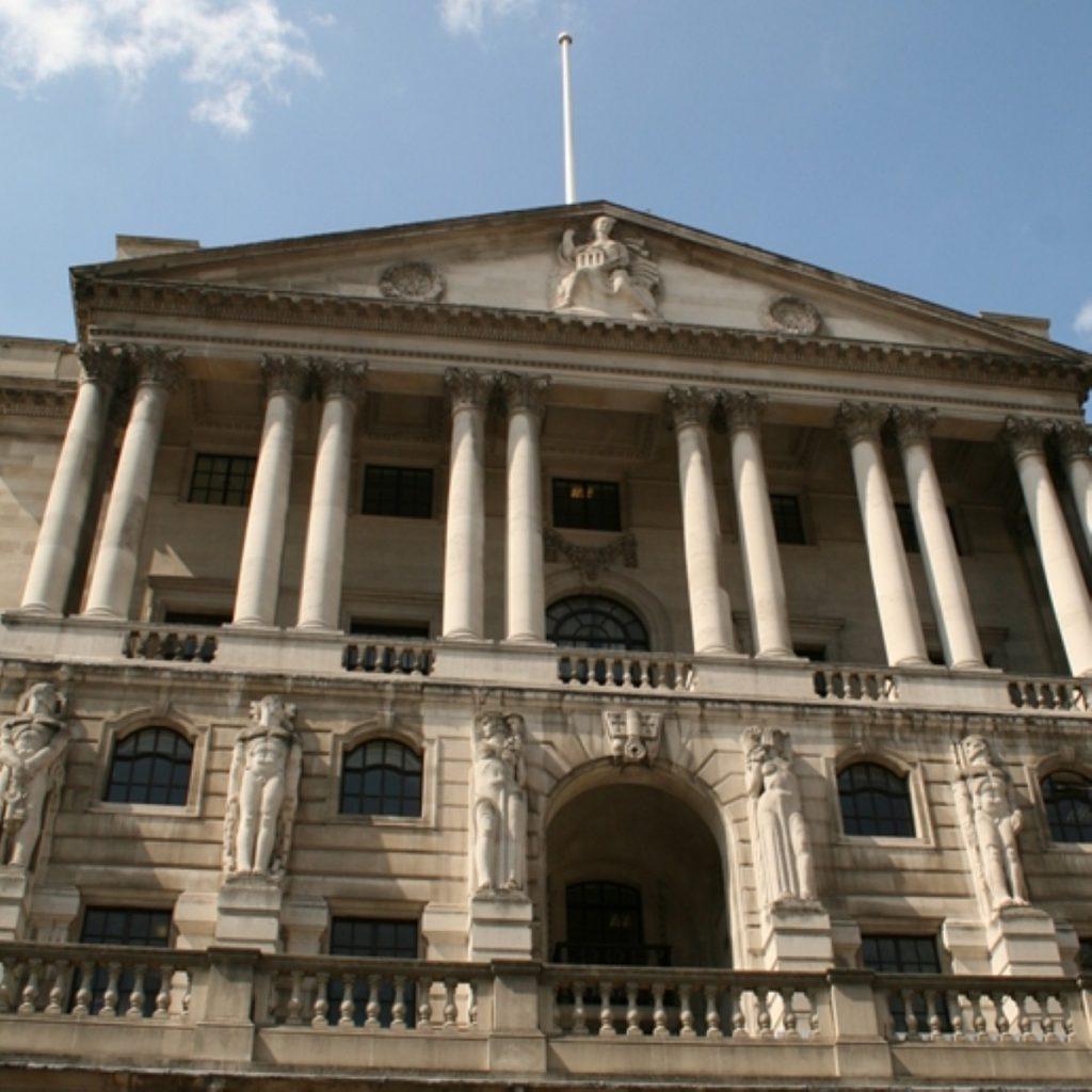 Bank of England's Mervyn King considers bank split