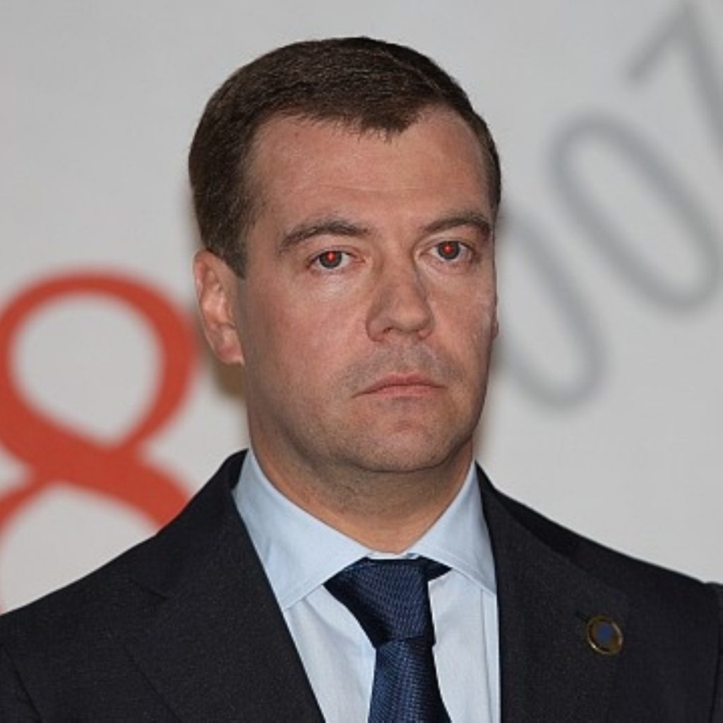Dmitry Medvedev, is the current president of Russia