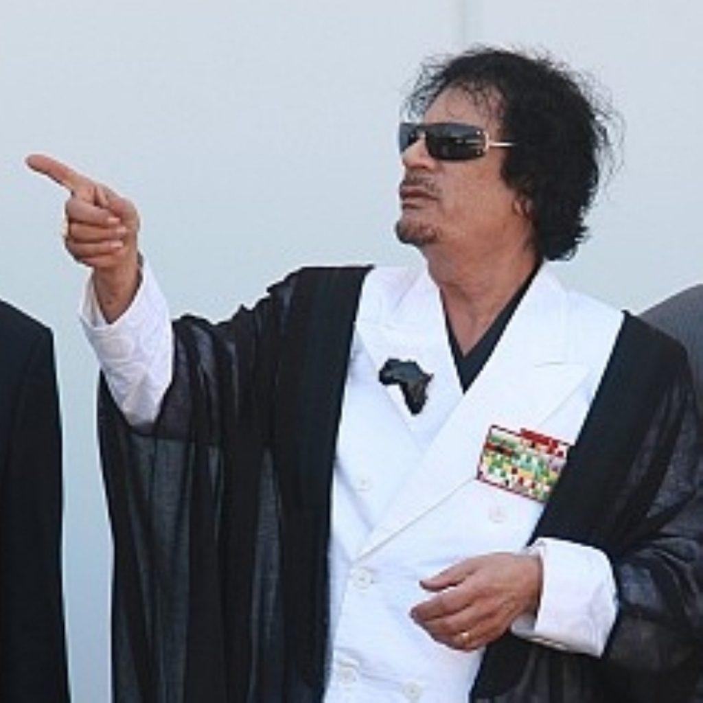 Col Gadaffi's Libya regime remains defiant