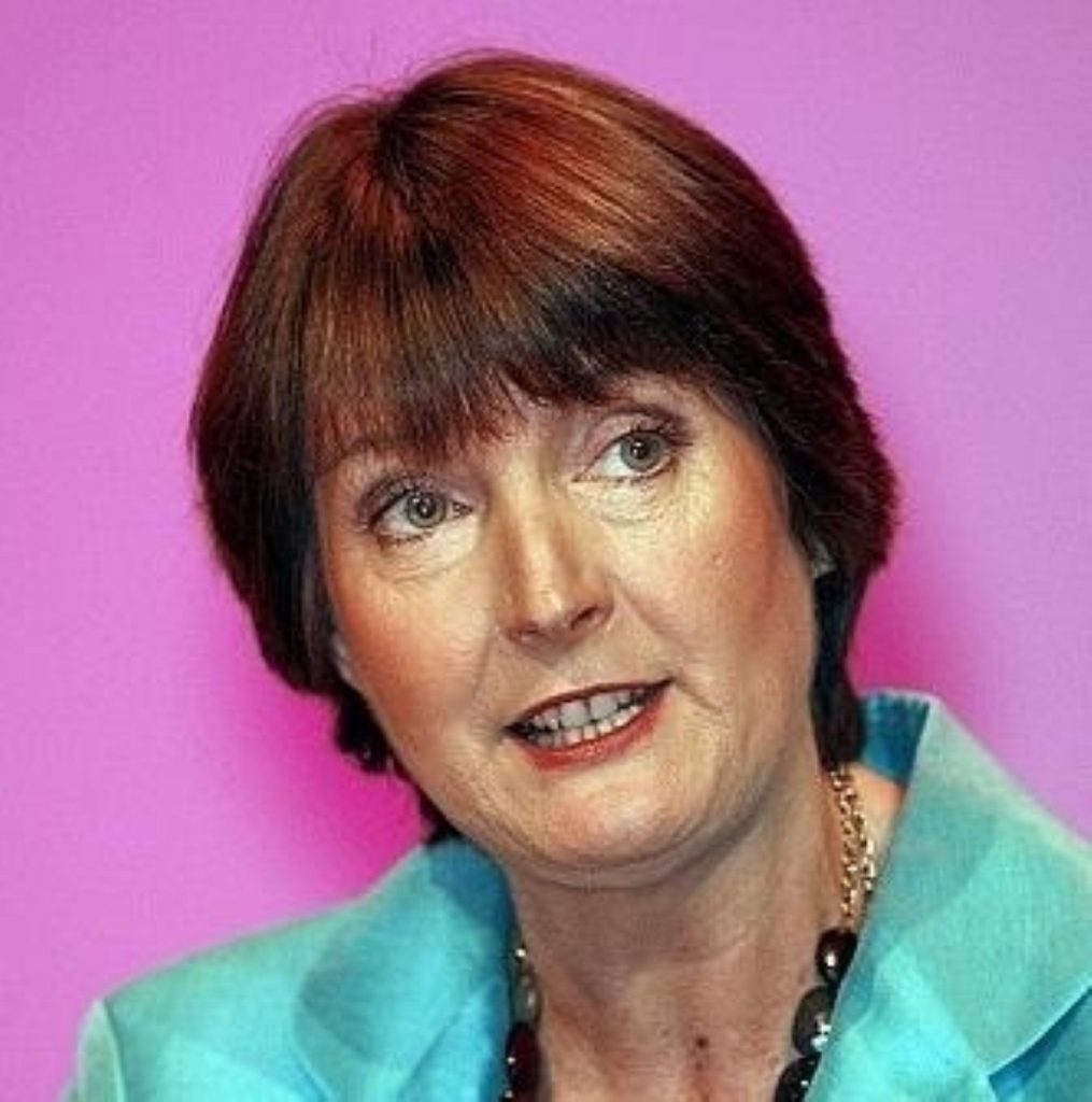 Harriet Harman, women's minister